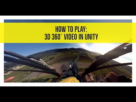 How to play Stereoscopic 3D 360 video in Unity3D in 3 minutes
