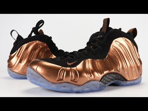 buy online 0facc eade4 Nike Air Foamposite One Copper 2017 Review + On Feet
