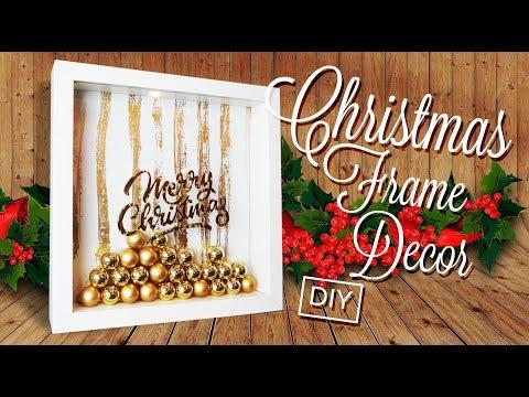 Christmas  frame  decoration DIY