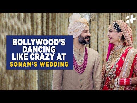 Indiatimes | Bollywood's Dancing Like Crazy At Sonam Kapoor's Wedding