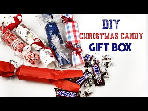 DIY Christmas Candy Gift Box - Amazing Big Candy