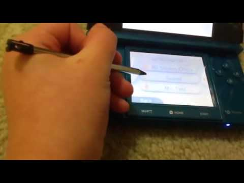 How to use system settings on nintendo 3ds