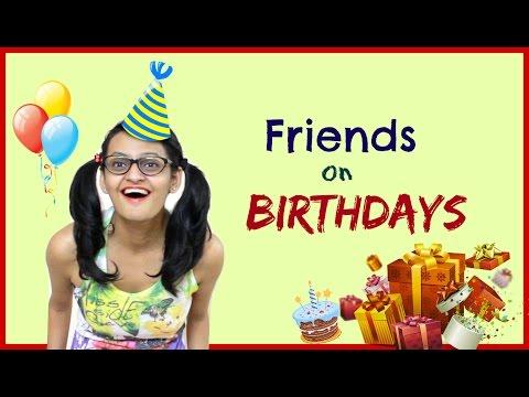 Types of Friends on Birthdays