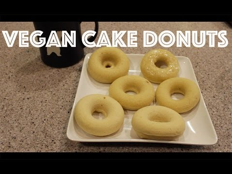 Vegan Cake Donuts