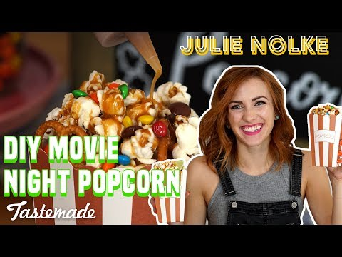 DIY Movie Night Popcorn Station | 5 Second Rule with Julie