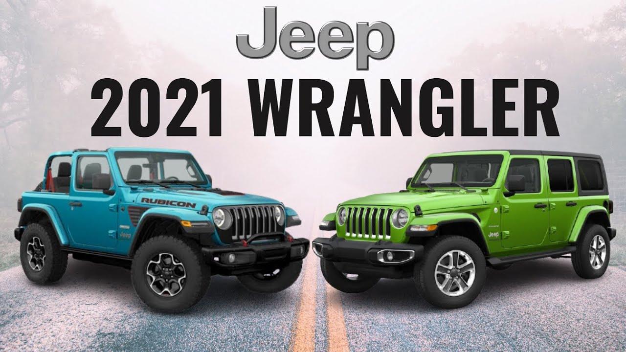 2021 Jeep Wrangler Sahara VS. Rubicon VS. Sport - Which Do You Buy
