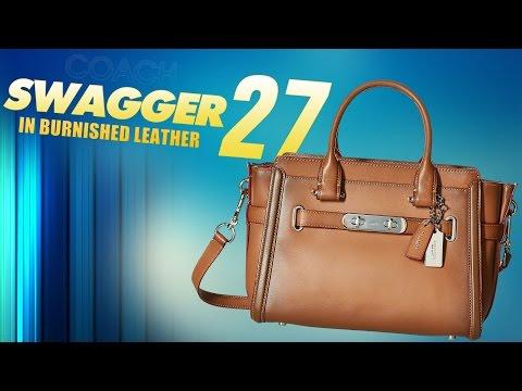 e7e6e4e6ea Coach Swagger 20 Bag Review + Try On - Swagger Shoulder Bag Coach