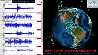 Download 6.3 Earthquake La Esperanza, Panama 6/25/2019 Video