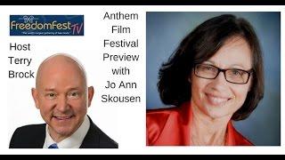 Anthem Libertarian Film Festival Preview with Jo Ann Skousen on FreedomFest TV
