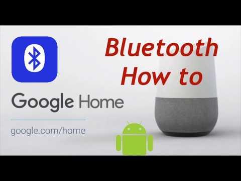 Google Home Bluetooth Tutorial iPhone android windows Spotify Amazon music etc