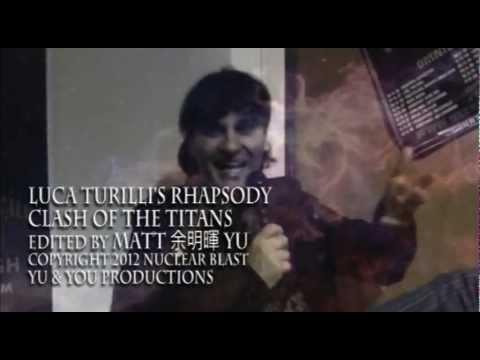 LUCA TRUILLI'S RHAPSODY: Clash of the Titans - fan made Music Video
