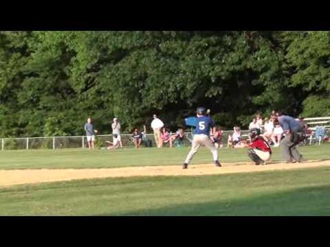 Wood Bat Sounds Great - Chris R rips double