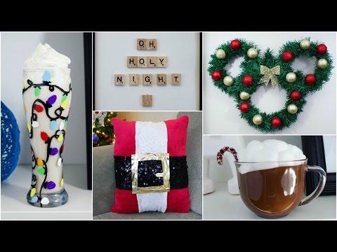CHEAP & EASY DIY CHRISTMAS DECOR IDEAS | PINTEREST INSPIRED