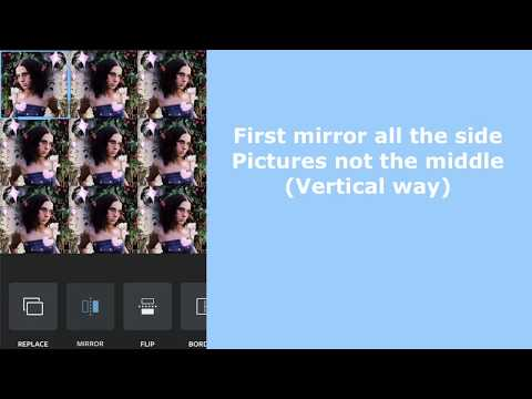 How to mirror pictures on layout (IPhone)