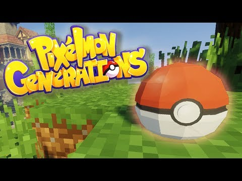 CRAFTING POKEBALLS! | Minecraft: Pixelmon Generations | Episode 4