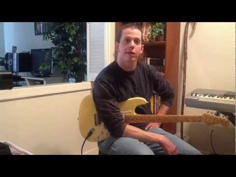 Building Guitar calluses by Brad Barnes