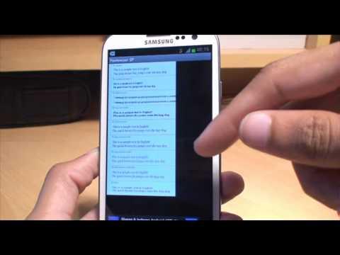 How to Change Custom Fonts on Samsung Galaxy S3 Ice Cream Sandwich (ICS)