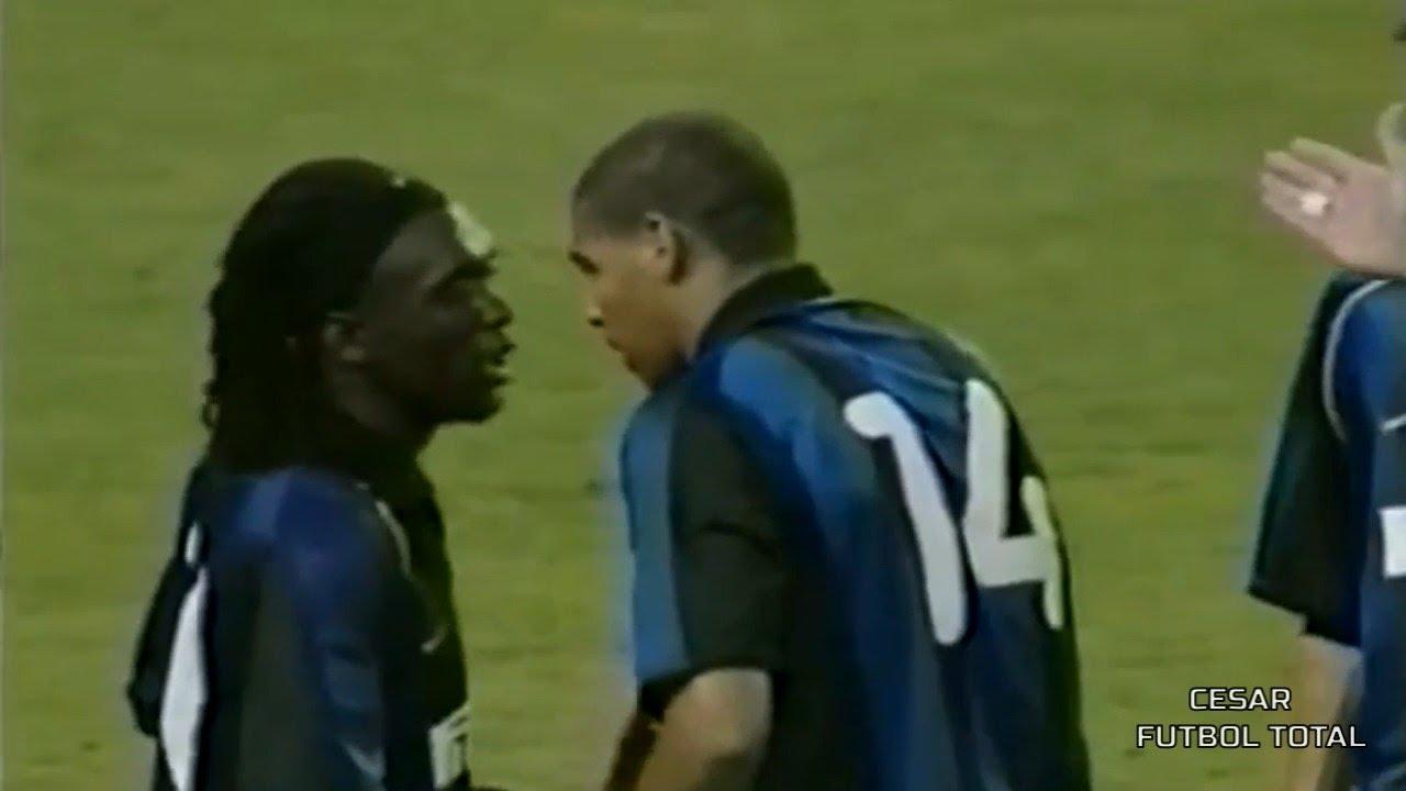 Adriano Leite - Debut por Inter de Milán (19 Años) - 14/08/2001