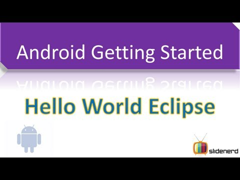 2 Hello World Android Eclipse |