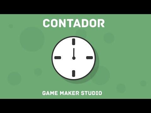 Como hacer un reloj para tus juegos| Game Maker Studio.
