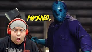 RETRO JASON IS HERE AND HE BROUGHT HIS MIXTAPE!! [FRIDAY THE 13th: THE GAME]