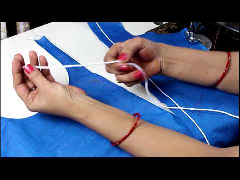 Side Slit Kurti Cutting &Stitching, Suit/Kameez Cutting Very Easy Method Step By Step in hindi