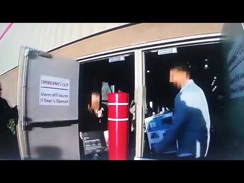 Costco Thieves Run Rite Into Police @ Backdoors
