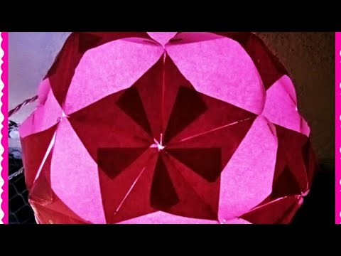 Diwali Special: How to make Star Ball Paper Lantern