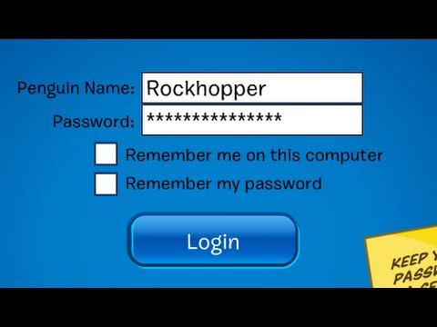 Club Penguin Rockhopper's Password December 2014