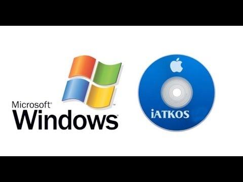Burn iAtkos DVD in Windows