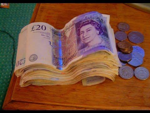 Quick Cash - Powerful 8 minute 3rd Eye Awakening Binaural Beat Session - UK Pounds - ***Must See***