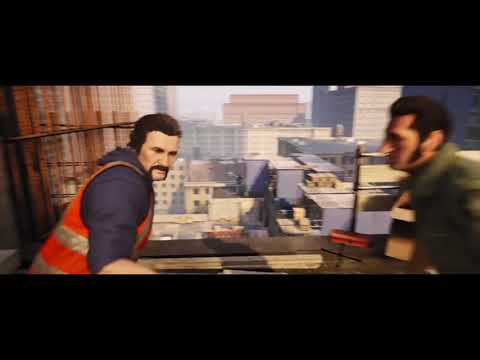 Construction Site Case Scene - (A Way Out)