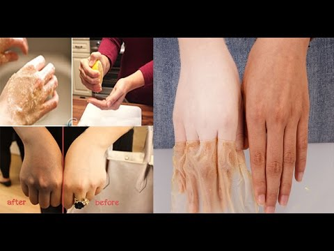 How to make Your hand and skin Soft, White and Beautiful/whiten our hand naturally/silky soft Hand.