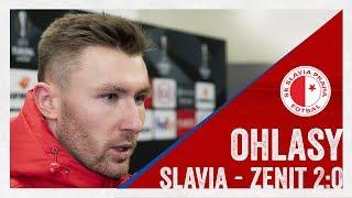 Ohlasy | Slavia - Zenit 2:0