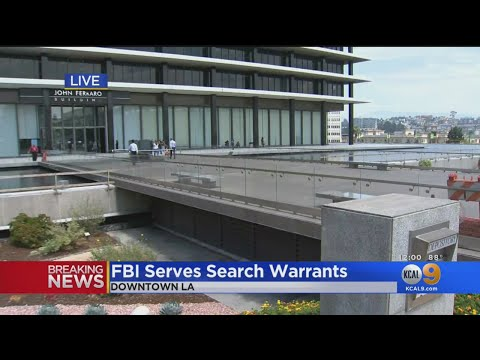Xxx Mp4 FBI Serves Search Warrants At LADWP Offices In Downtown LA 3gp Sex