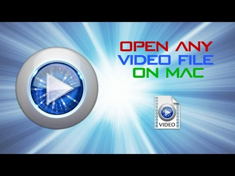 HOW TO OPEN ANY VIDEO FILE ON MAC FOR FREE! (INCLUDING .AVI AND .MKV!)