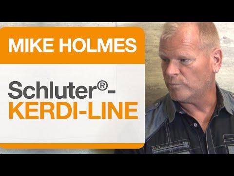 Mike Holmes on Schluter®-KERDI-LINE