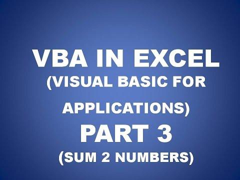 VBA IN EXCEL PART 3 IN HINDI, FUTURE KEY SOLUTIONS RAJPURA