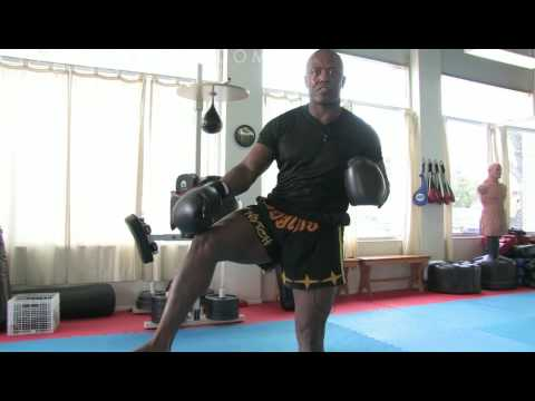 How to Do a Kickboxing Front Kick