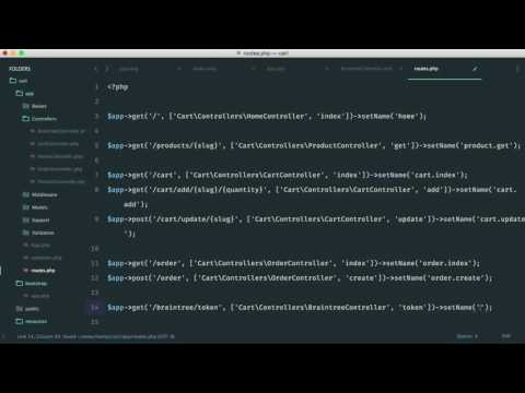 Build A Shopping Cart with PHP: Braintree Drop-in UI (12/15)