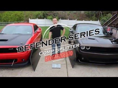 Defender Series Comp Splitter - Full Install - BJ's Garage 570