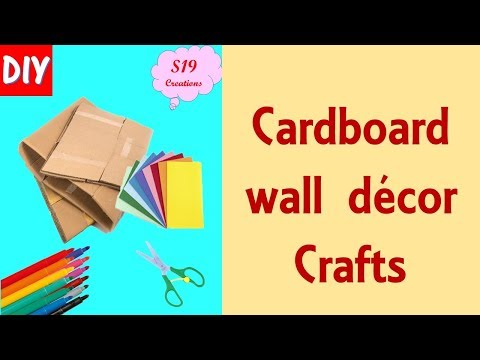 DIY Door Hanging from cardboard | easter crafts | BEST OUT OF WASTE IDEAS |  artesanato de páscoa
