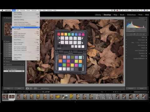 Creating and Using a Custom Camera Profile in Adobe Lightroom
