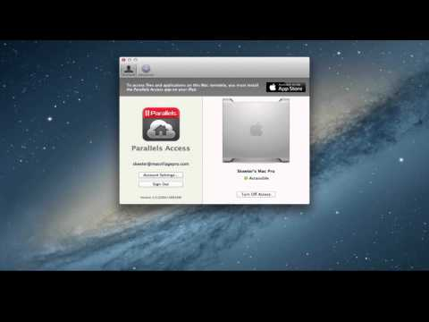 Parallels Access: How to Enable Remote Computer Authentication