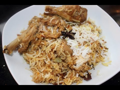 Hyderabad Chicken Dum Biriyani - Easy to make at home procedure!!!