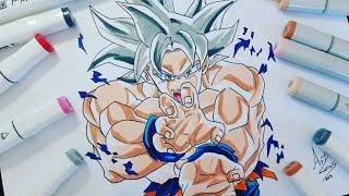 Como Desenhar Goku God Deus How To Draw Goku God