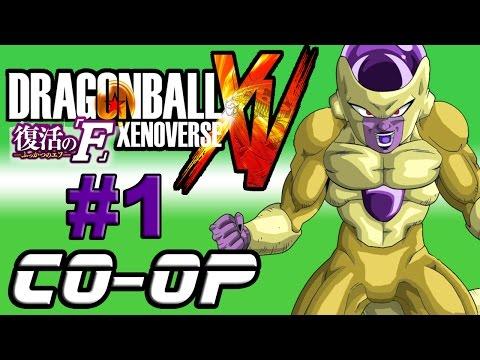 Dragon Ball Fukkatsu no F Xenoverse: Missões Co-Op #1 - Frieza Dourado