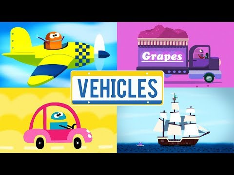 StoryBots | Vehicles Songs | Learn About Trucks, Trains, Boats and Planes | Classic Songs for Kids