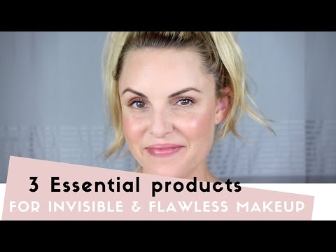 3 Essential Products for FAST, Invisible & Flawless Makeup- Elle Leary Artistry