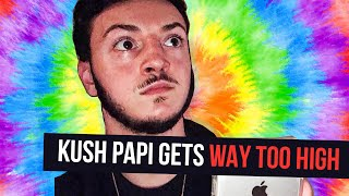 Kush Papi gets way too Faded during his Interview